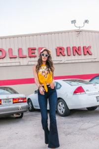 Roller Rink Photoshoot in Houston
