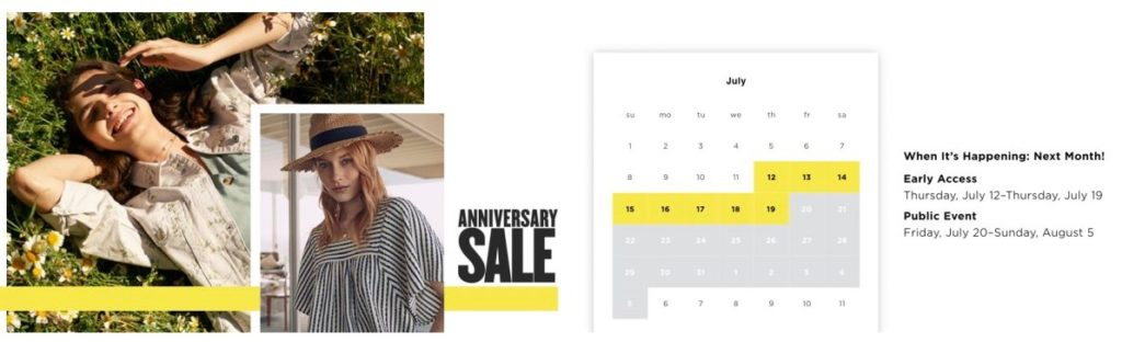 Nordstrom Sale Dates 2018