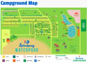 Splashway Waterpark Map