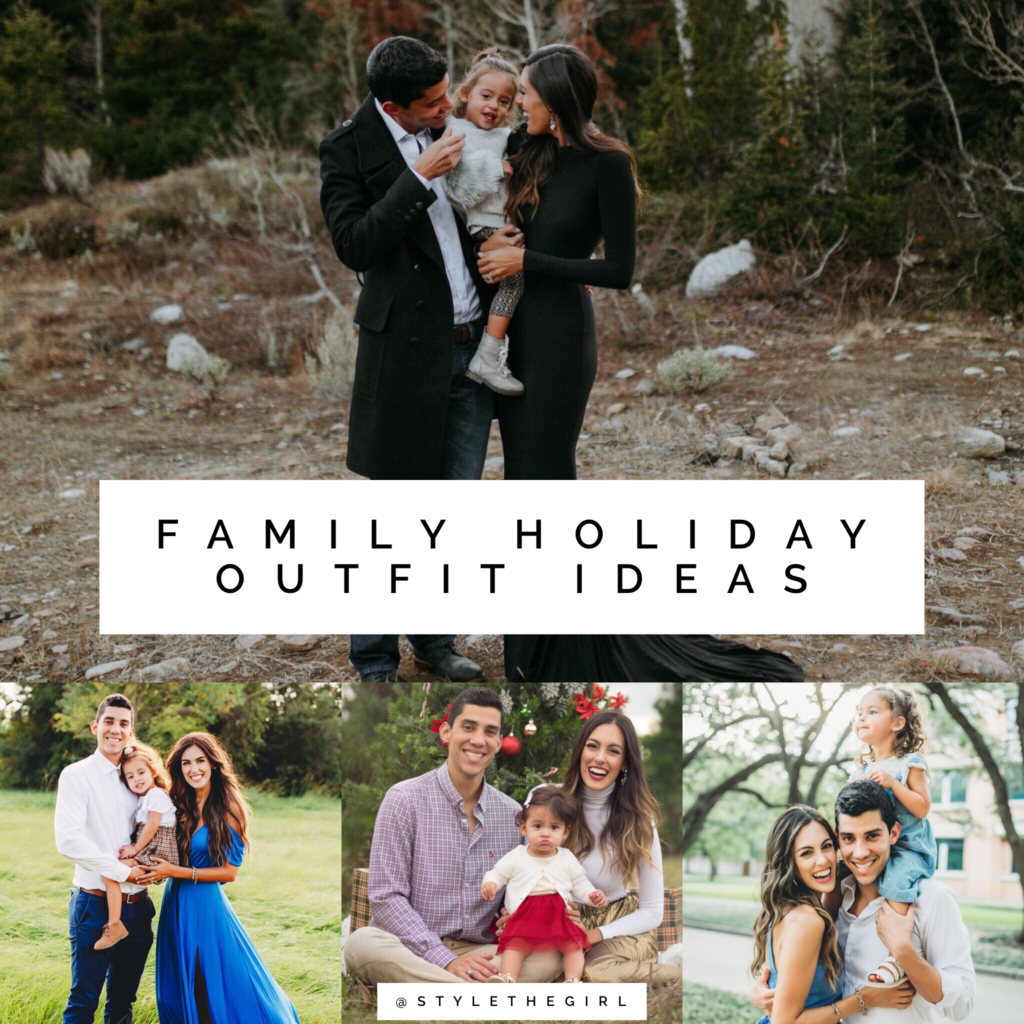 Family Holiday Photo Outfit Ideas Stylethegirl