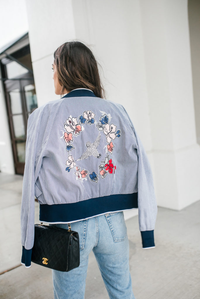 Jason Wu Embriored Jacket with Rent The Runway