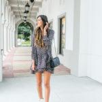 Rent The Runway Joie Printed Jamira Dress