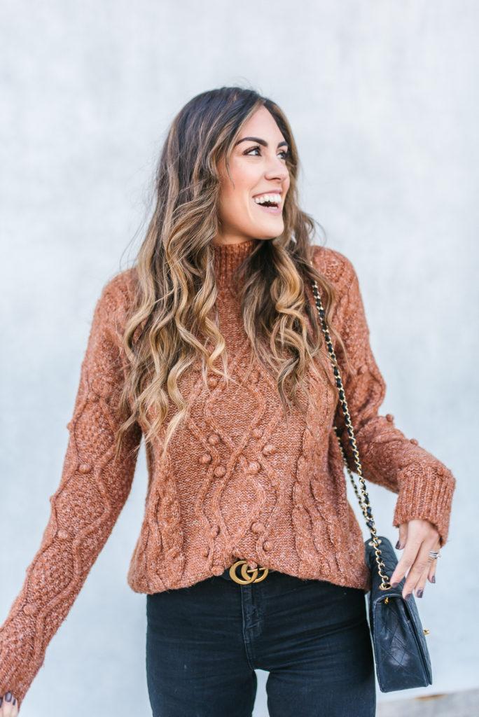 Pom Pom Sweater from Evereve