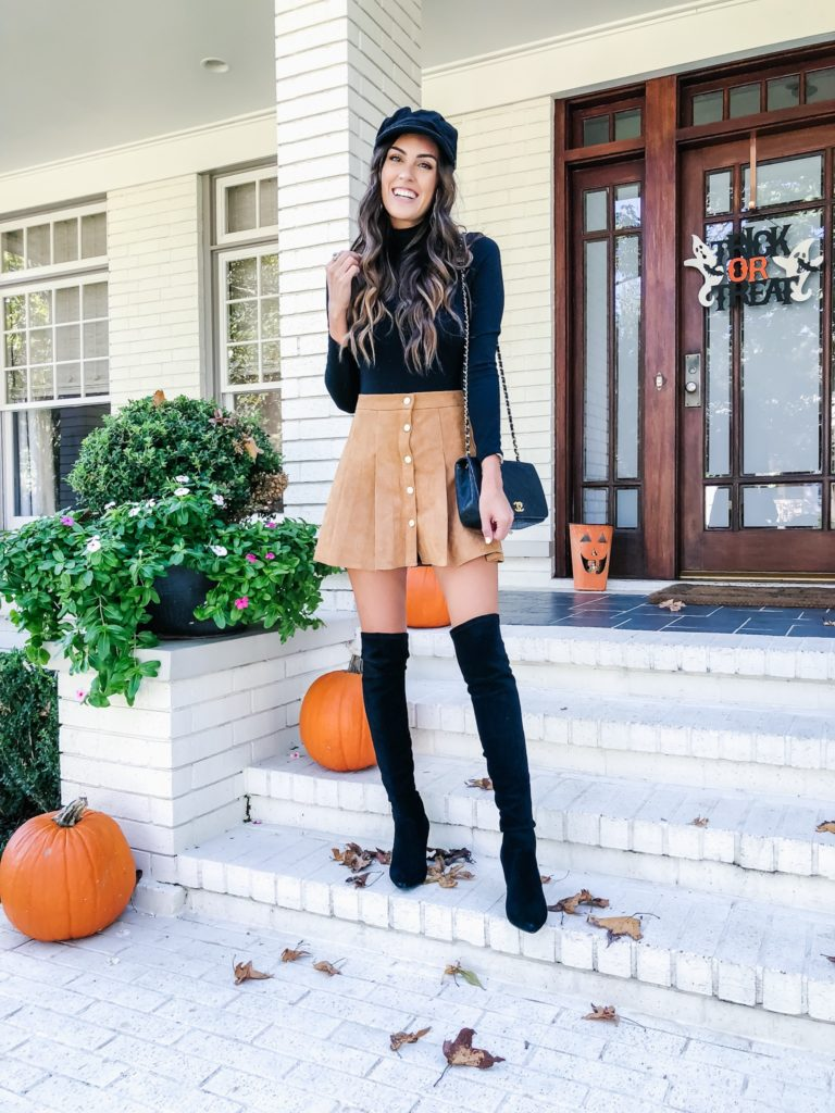 styling over the knee boots