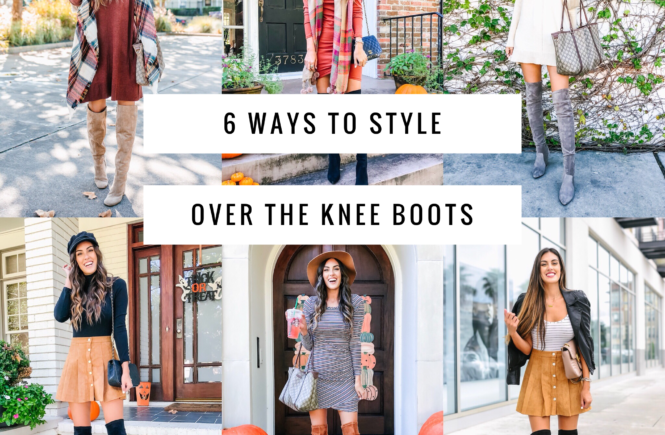 6 ways to wear over the knee boots