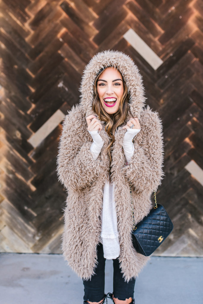 Teddy Bear Coat Winter Style