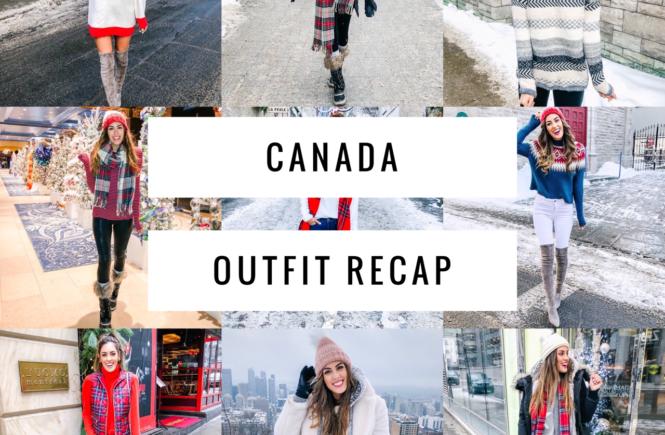 canada outfit recap