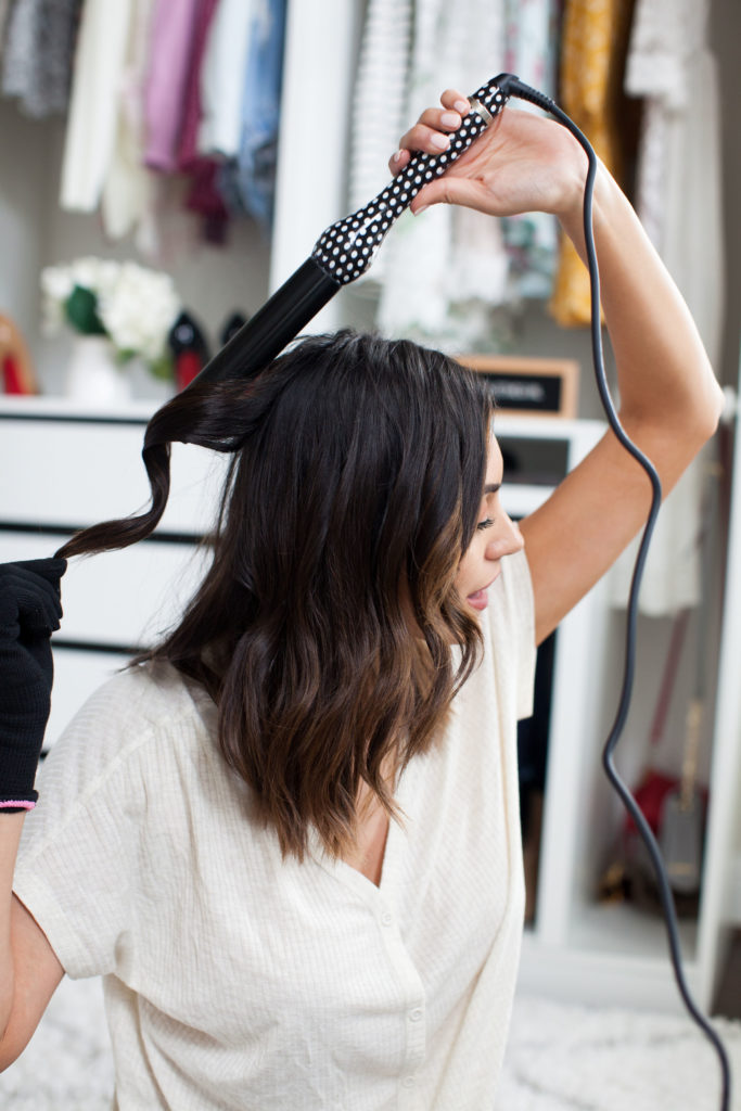 How I Get Beachy Waves with Lorion Beauty with Stage