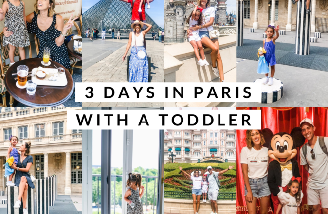 3 days in paris with a toddler