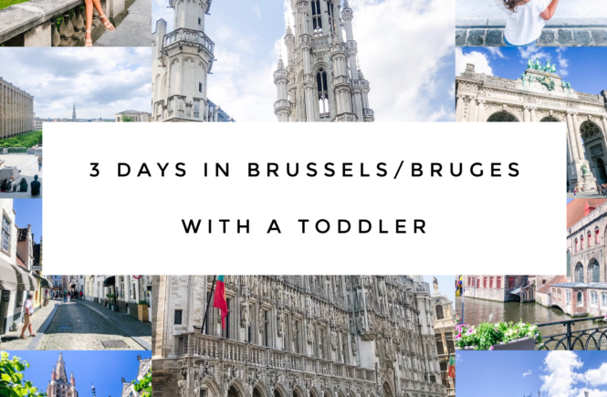 Brussels and Bruges Travel Guide with a Toddler