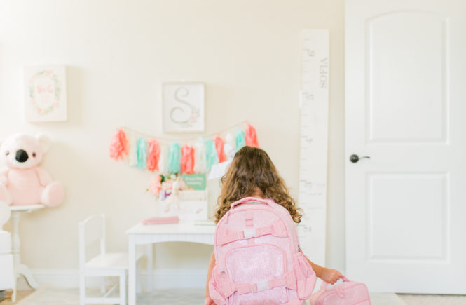 back to school with pottery barn
