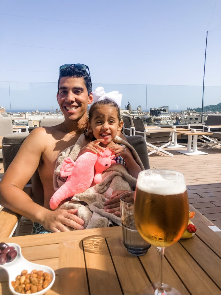 barcelona travel guide with a toddler