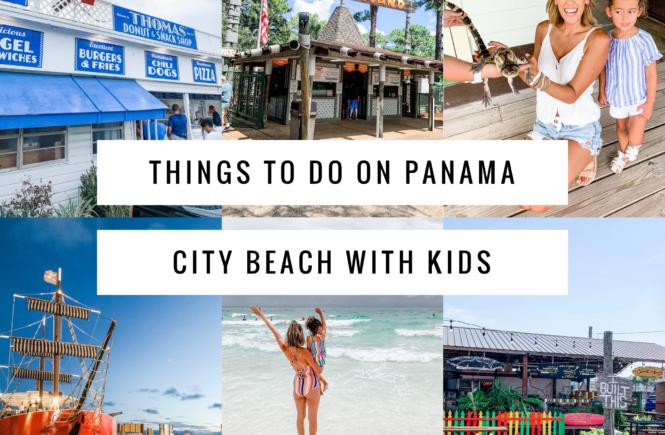 visit panama city beach with kids