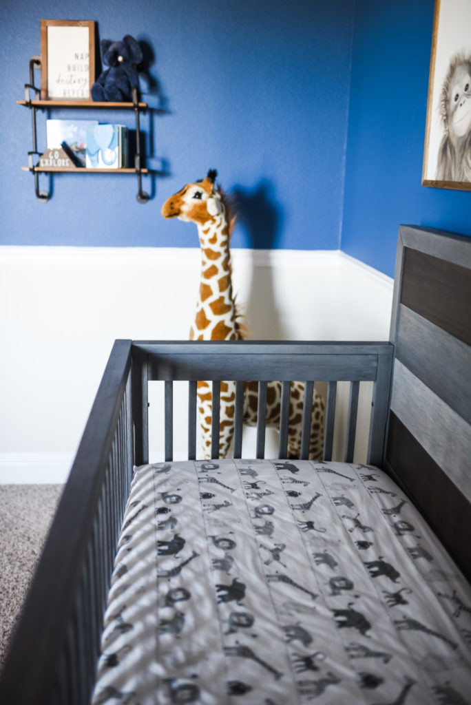 Baby Boy Animal Nursery