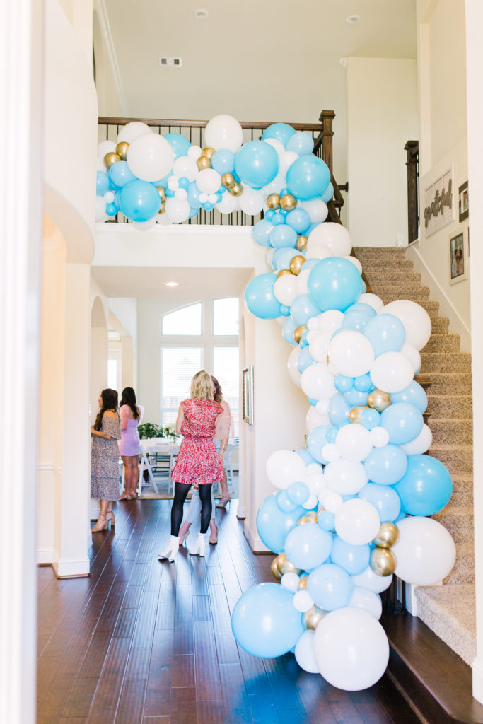Over The Moon Baby Shower #stylethegirl